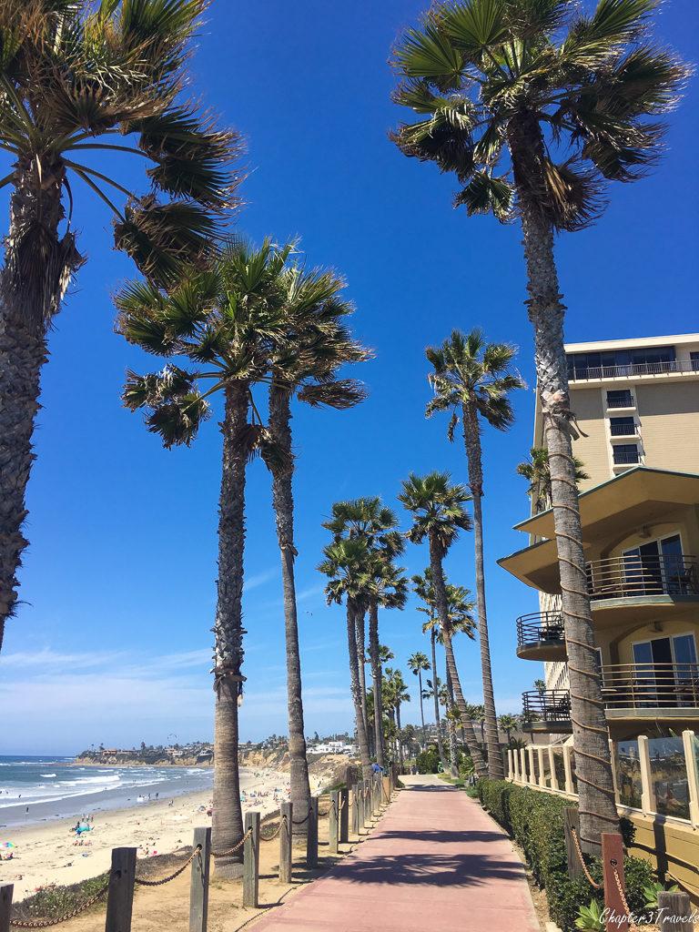 Boardwalk at Pacific Beach, San Diego