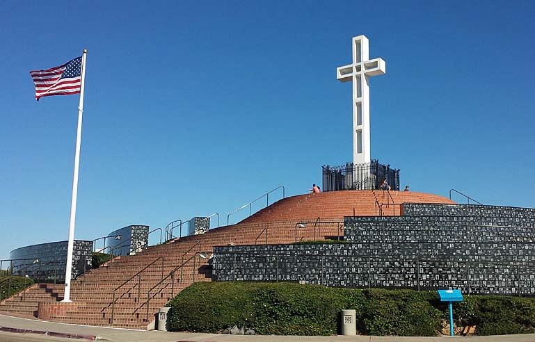 Mount Soledad Veterans Memorial, San Diego, California