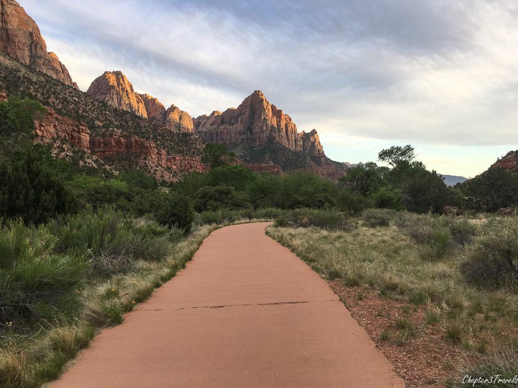 The Par'us Trail at Zion National Park