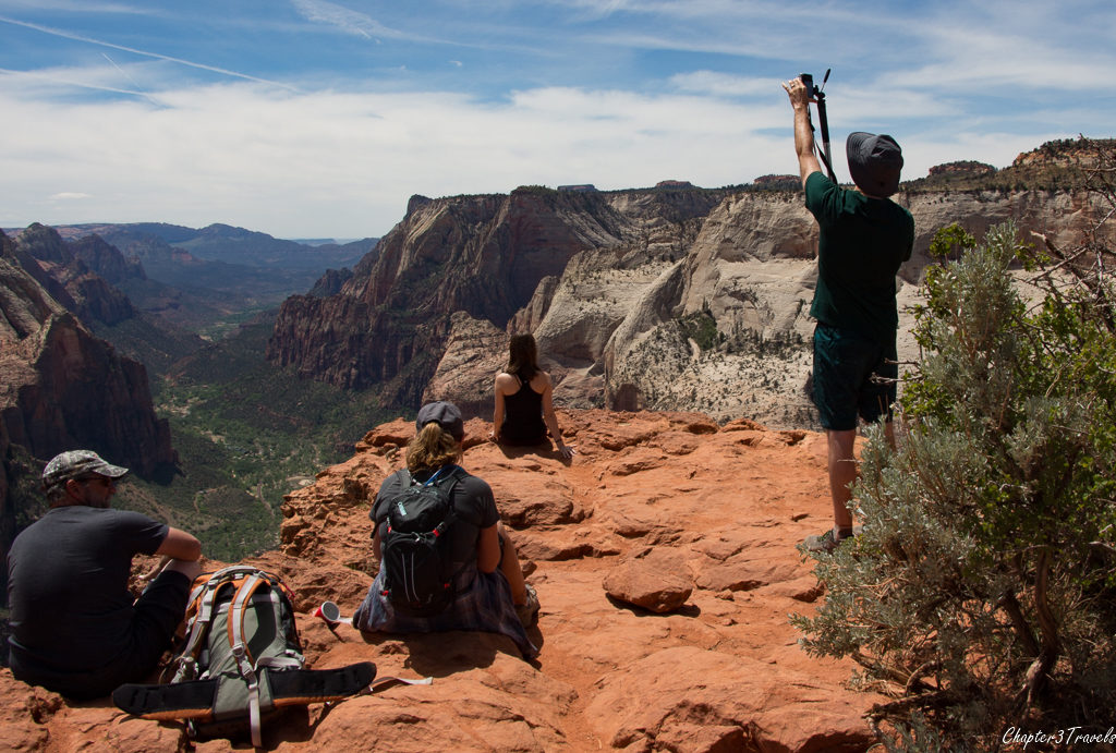 Instagrammer at Zion National Park