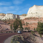 Scenic Drive at Zion National Park