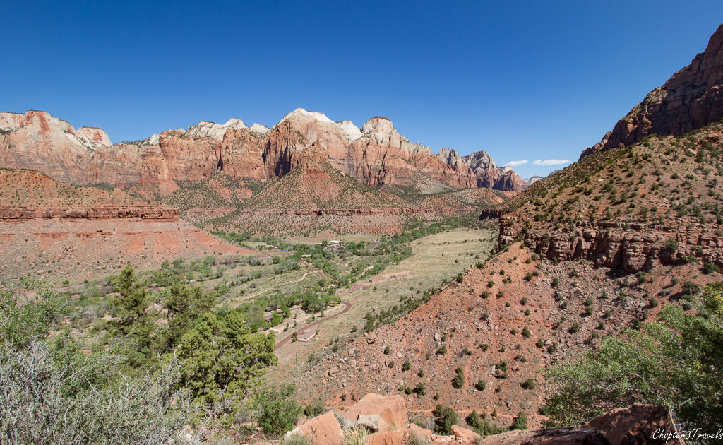 The Watchman Trail at Zion National Park