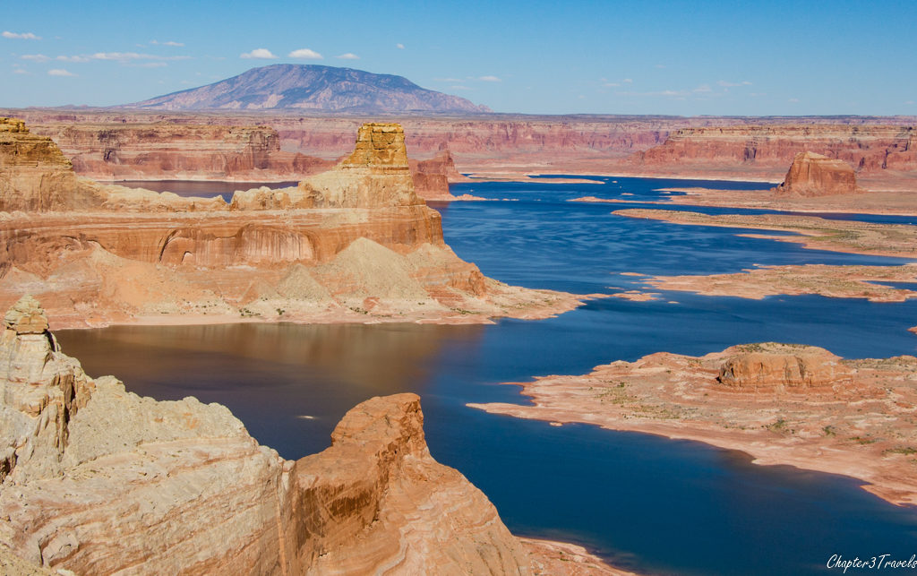 Alstrom Point, overlooking Lake Powell in Utah.