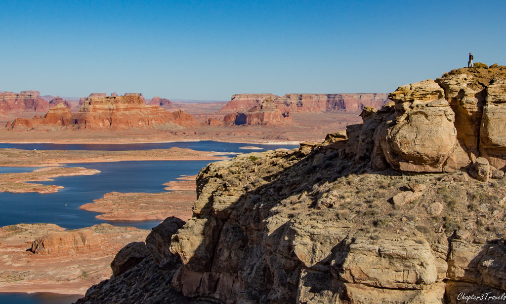 Alstrom Point, overlooking Lake Powell in Glen Canyon Recreation Area