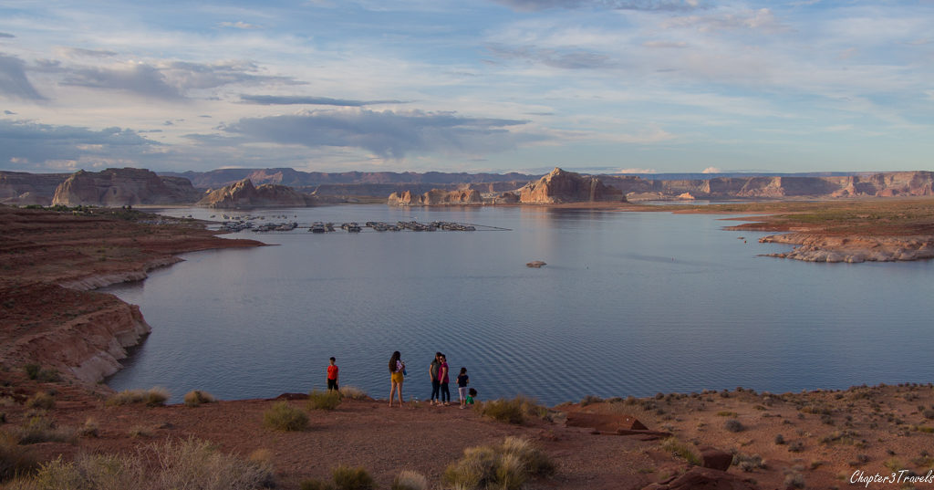 Lake Powell in Page, Arizona