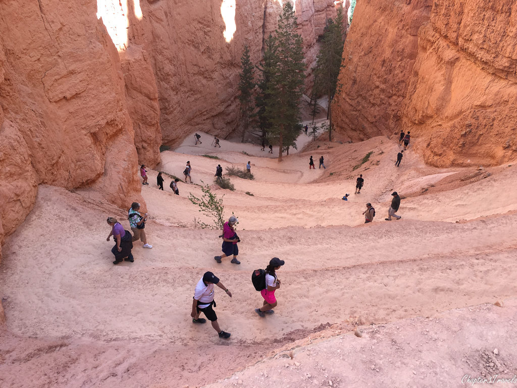 Hikers at Bryce Canyon National Park