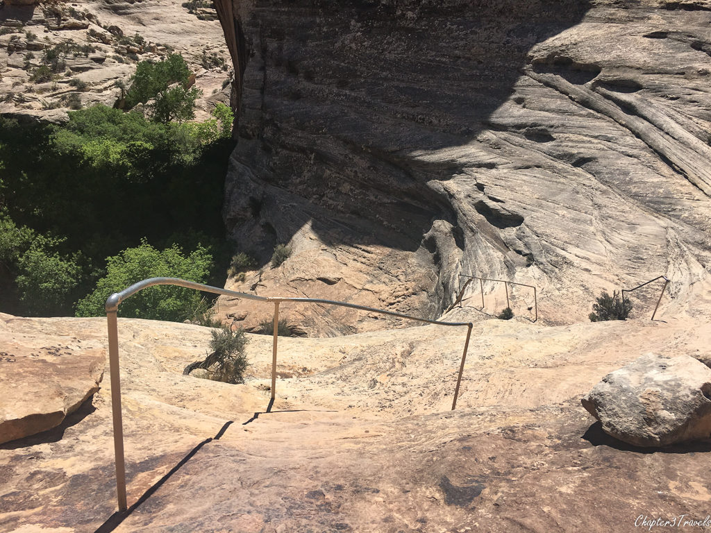 Hiking trails at Natural Bridges National Monument