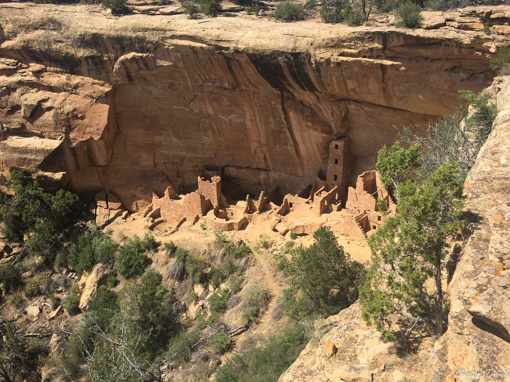 Cliff dwelling at Mesa Verde National Park