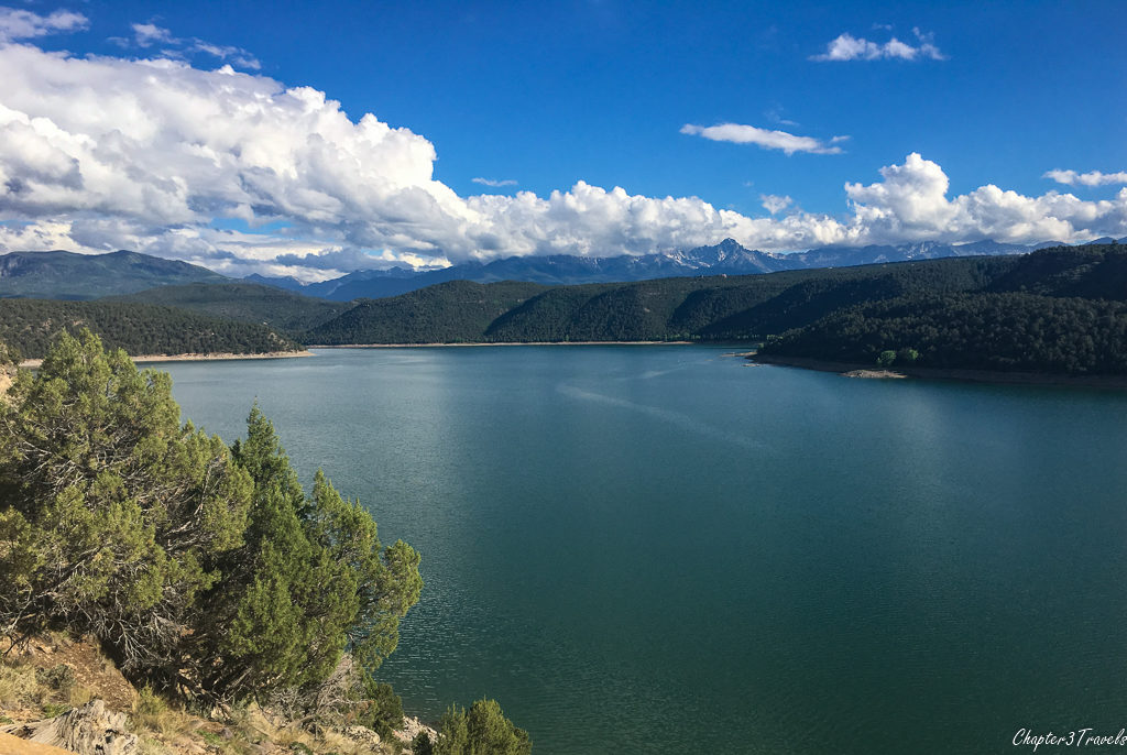 Reservoir at Ridgway State Park in Ridgway, Colorado