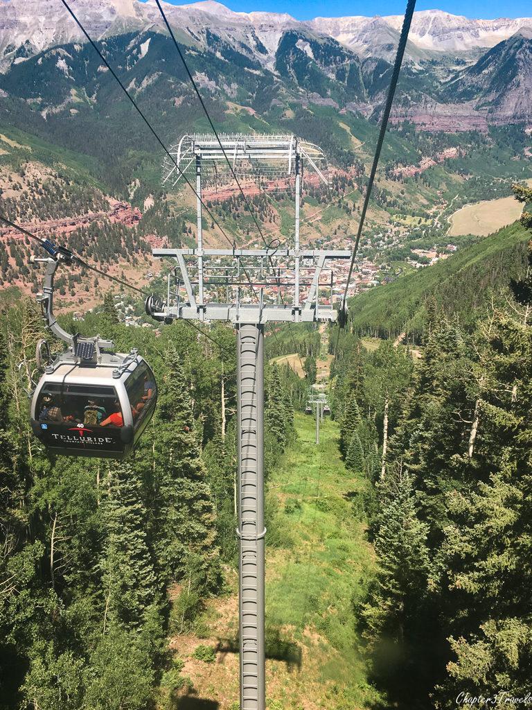 Gondola in Telluride, Colorado