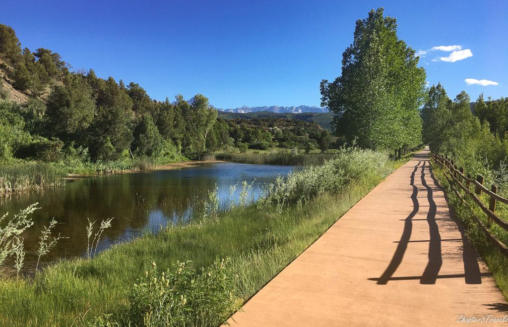 Uncompahgre River Trail in Ridgway, Colorado