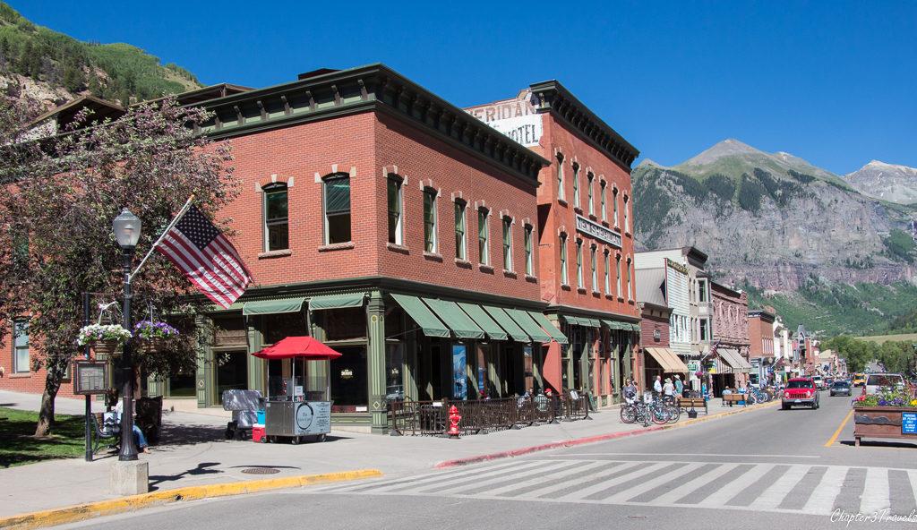 Downtown Telluride, Colorado