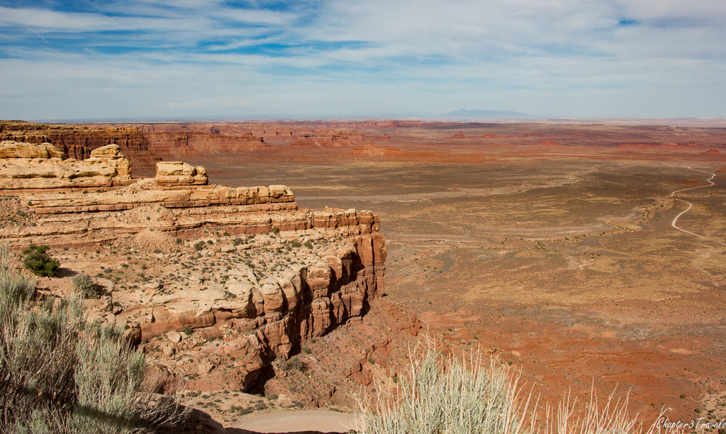The view from the Moki Dugway