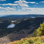 Views from the Crag Crest Trail in Grand Mesa National Forest