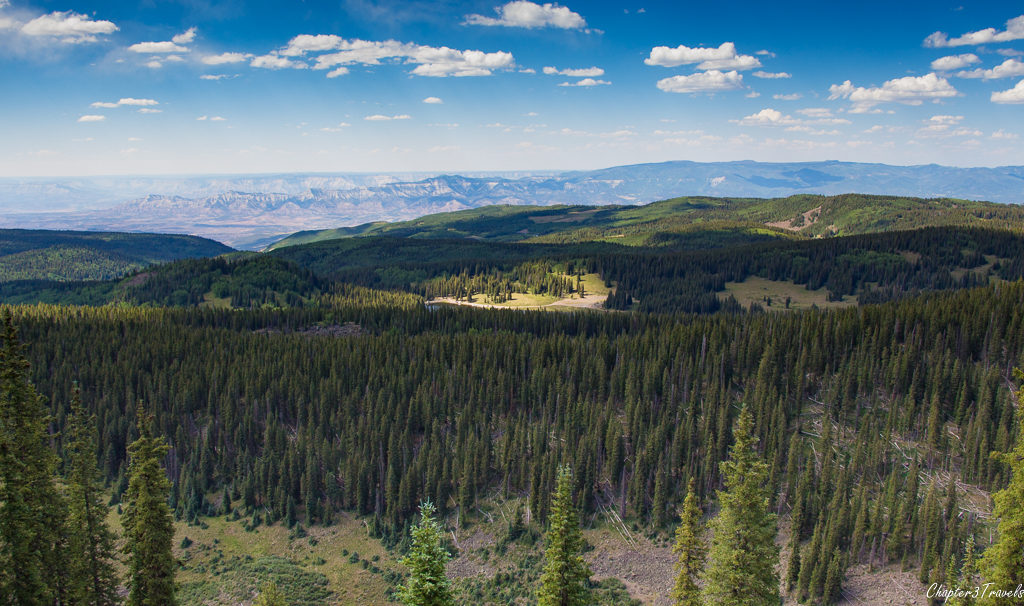 Views from the Crag Crest Trail