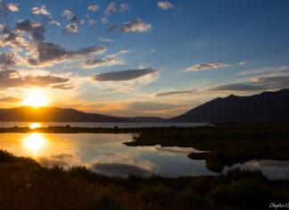 Sunset at Henrys Lake State Park
