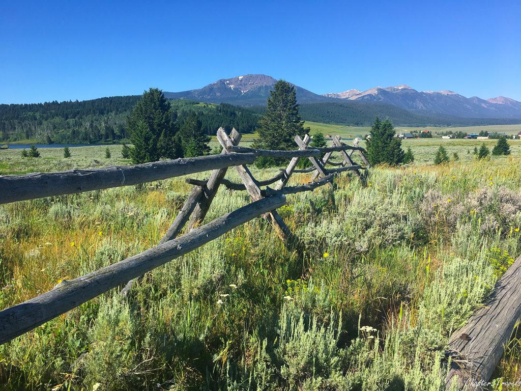Scenery near Henry's Lake State Park in Island Park, Idaho