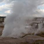 a fumarole at Yellowstone