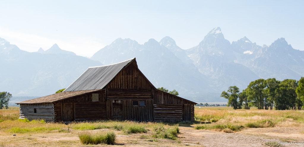 Barn at Mormon Row in Grand Teton National Park