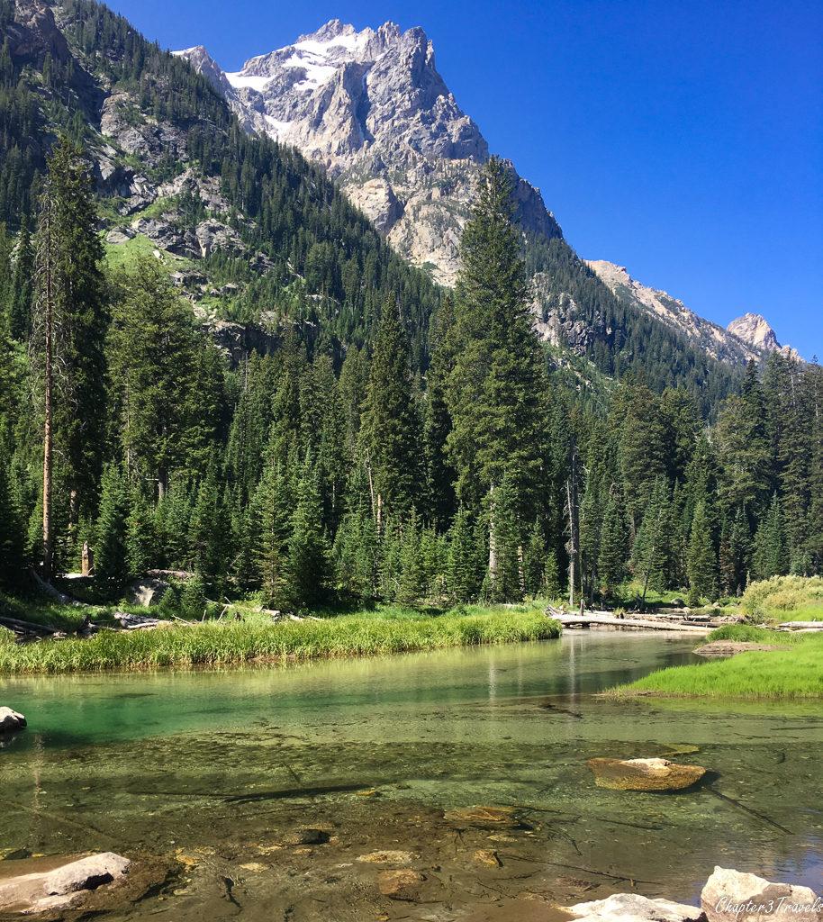 Cascade Canyon Trail at Grand Teton National Park
