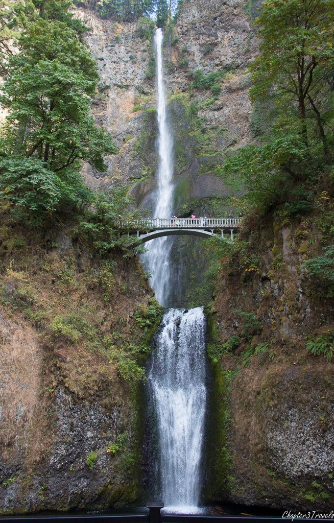 Multnomah Falls in the Columbia River Gorge Scenic Area