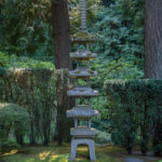 The Japanese Gardens in Portland, Oregon