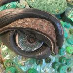 Artwork at Washed Ashore in Bandon, Oregon