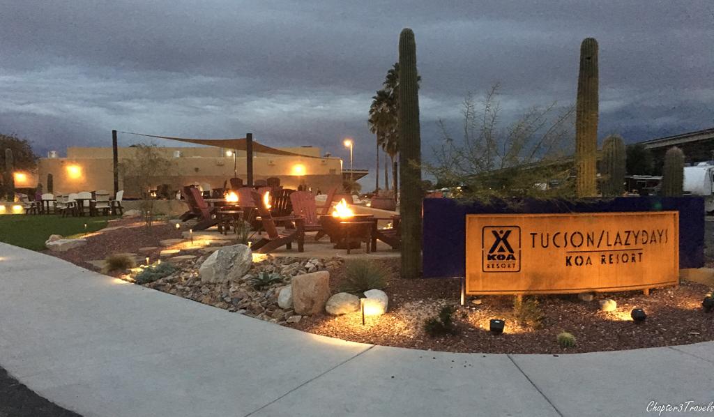 Map Of Koa Arizona.Campground Review Tucson Lazydays Koa Tucson Arizona Chapter 3