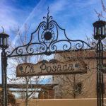 La Posada entrance sign