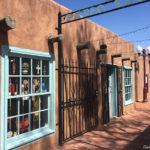 Shops in Old Town section of Albuquerque