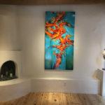 Art gallery on Canyon Road in Santa Fe