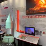 Displays inside the Minuteman Missile Museum in South Dakota