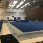 Men's gymnastics training facility
