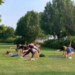 Yoga class in Burlington