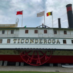 The Ticonderoga located at the Shelburne Museum