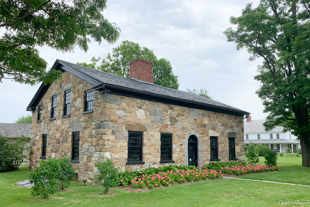 Stone house located at the Shelburne Museum in Shelburne, Vermont