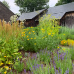 The grounds of the Shelburne Museum in Shelburne, Vermont