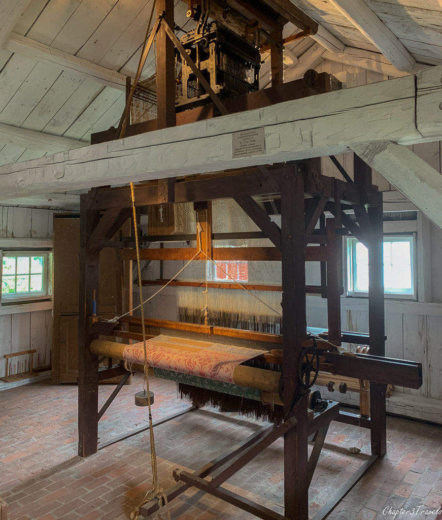 Loom located at the Shelburne Museum in Shelburne, Vermont