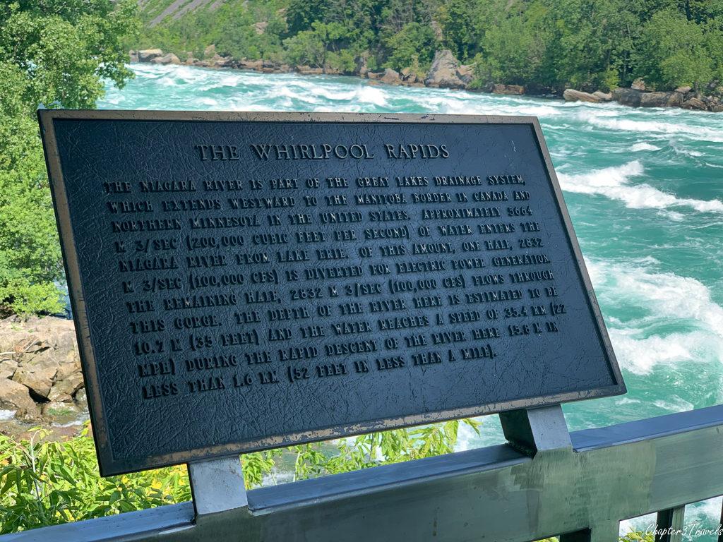 Rapids viewed from White Water Walk at Niagara Falls
