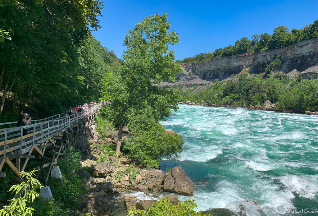 White Water Walk at Niagara Falls