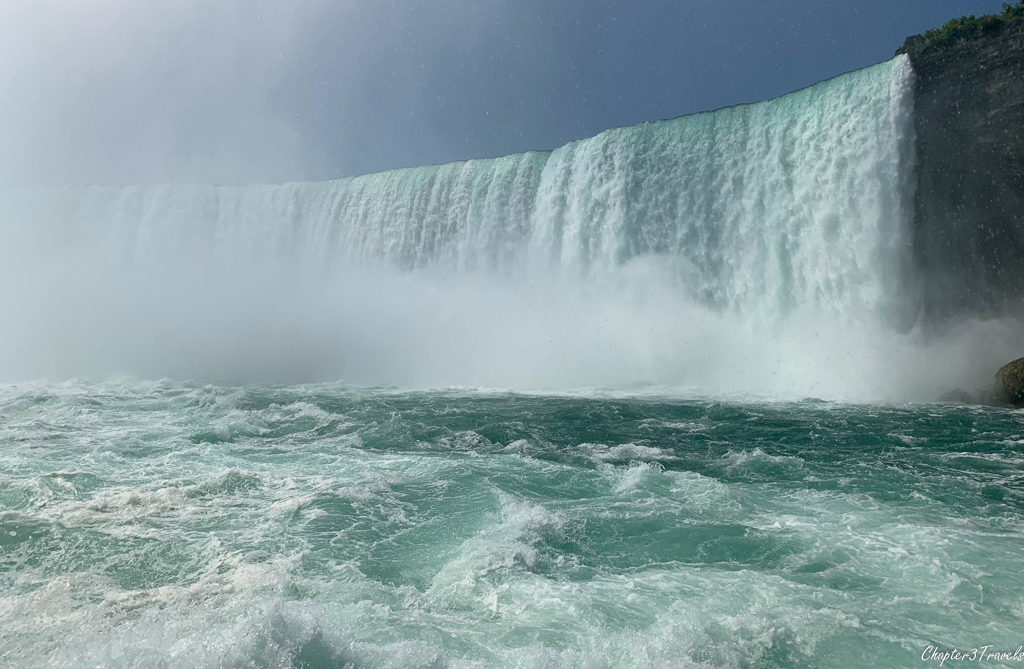 Horseshoe Falls viewed from Hornblower boat