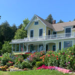 Landscaped home on Mackinac Island