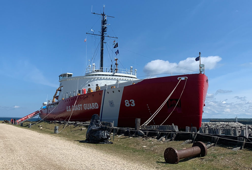 The Mackinaw Icebreaker ship