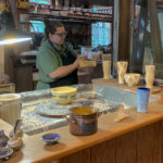 Pottery shop at Greenfield Village