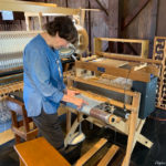 The weaving shop at Greenfield Village