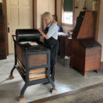 The print shop at Greenfield Village