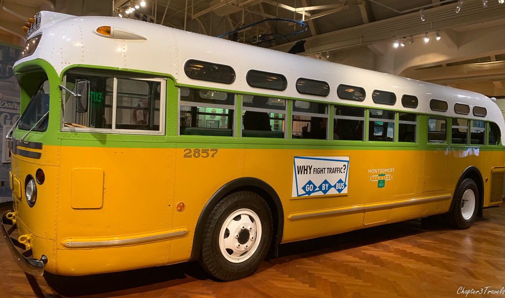 The Rosa Parks bus at The Henry Ford
