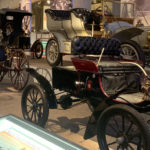 Early automobiles at the Henry Ford in Michigan