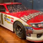 A race car at the Henry Ford