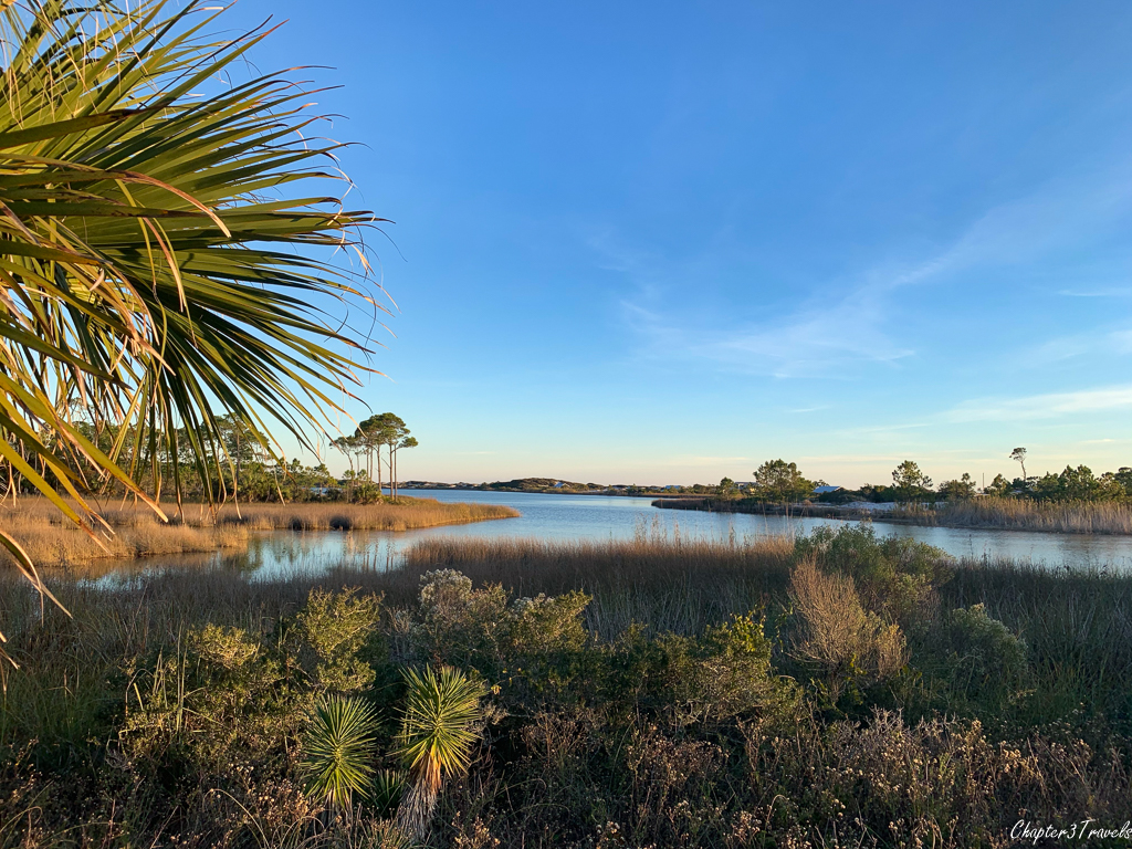 Lake at Grayton Beach State Park